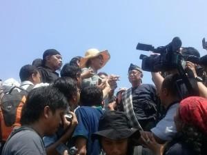 Susi di TPI Pangandaran (foto:detikcom)