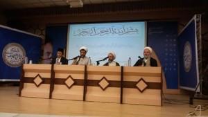 Prof Umar dan ulama-ulama Iran. Foto: Ismail Amin