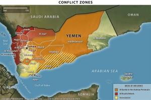 zona konflik yaman