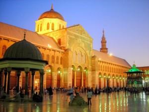Masjid Ummayah Damaskus