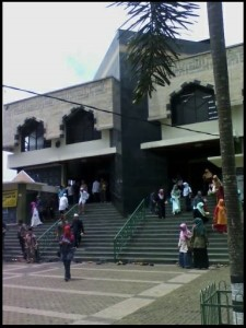 Situasi masjid usai tabligh akbar