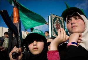gadis militan palestina
