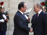 Putin dan Hollande akan Bahas Masalah Ukraina dan Kapal Perang Rusia