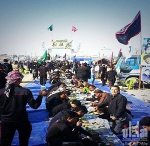 jamuan makan di irak