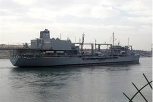 kapal perang iran di suez
