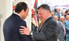 mesir al-sisi and king abdullah
