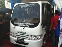 Mobil Tenaga Surya SMK Muhammadiyah/ANTARA