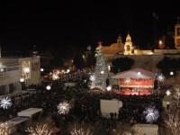 Rayakan Natal, Ribuan Umat Kristen Berkumpul di Bethlehem