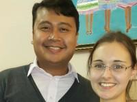 Raymond Jr Paramaean Sihoming (kiri) /Tribun Timur