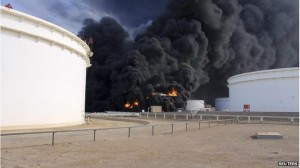 serangan udara libya