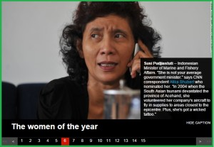 susi pudjiastuti most leadeing woman