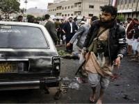Kelompok al-Houthi di Yaman Diserang Bom Lagi, Belasan Orang Tewas