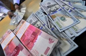 uang dollar rupiah