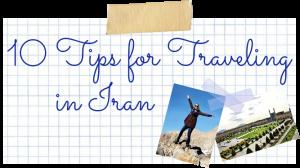 10 tips mengunjungi Iran
