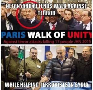 Standar Ganda Netanyahu, klik untuk memperbesar