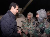 Sambut Tahun Baru, Bashar al-Assad Datangi Lokasi Pertempuran