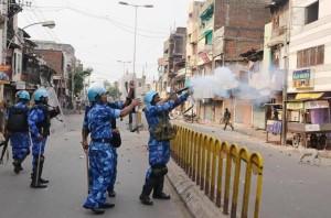 indian sectarian riot