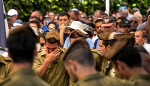 israeli soldiers cry