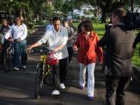 Jokowi saat diwawancarai Amanpour (foto:cnn)