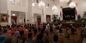 foto: acara maulid di istana negara (kompas)