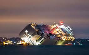 kapal kandas inggris