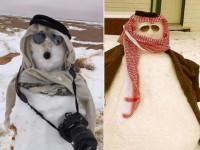 Ulama Arab Saudi Haramkan Bermain Boneka Salju