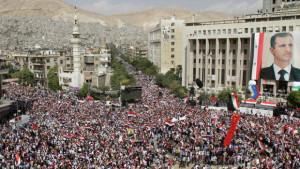 Rakyat Suriah mendukung Assad.