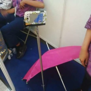 Fousis Umbrella ala Siswi MAN 2 Kudus/detikcom