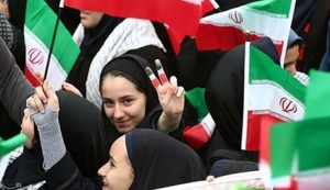 الصور الاولية لانطلاق مسيرات ذكرى انتصار الثورة الاسلامية