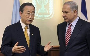 Netanyahu Ban-Ki-Moon