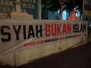 Spanduk Anti Syiah yogya