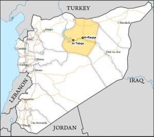 suriah provinsi raqqah