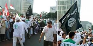 Bendera ISIS di HI