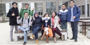 Mahasiswa di Rotterdam