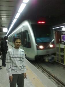Stasiun Metro di Mashad