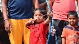 arjuna kecil india