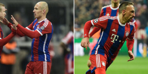 Robben dan Ribery/Bola.net
