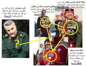 iran soleimani dan para jenderal arab