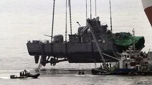 kapal perang korsel
