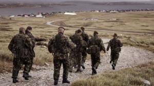 pasukan inggris falkland