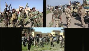 بالصور.. قوات عراقية تنتظر ساعة الصفر لاقتحام تكريت