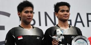 Angga Pratama (kiri)/Ricky Karanda Suwardi/AFP