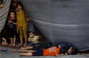 GAza menyedikhkan