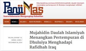 Panjimas menyebut ISIS sebagai mujahidin