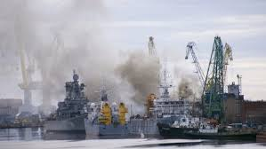 kebakaran kapal selam rusia