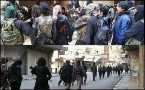 pasukan isis di yarmouk suriah