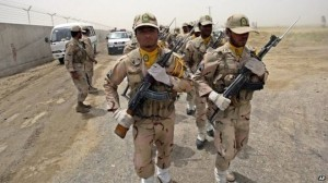 pasukan perbatasan iran