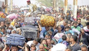 الوقف الشيعي يوجه بفتح المساجد والحسينيات لإيواء نازحي الانبار
