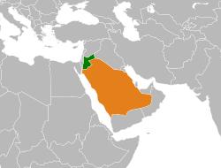 saudi yordania