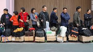 warga cina di hongkong